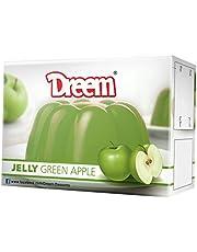 Dreem Jelly Green Apple Flavor, 70 Gm