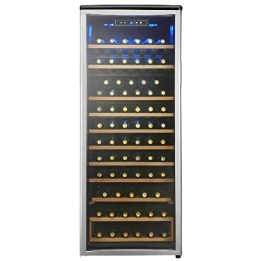 Danby 24 in. 75-Bottle Freestanding Wine Cooler, White (DWC106A1BPDD)
