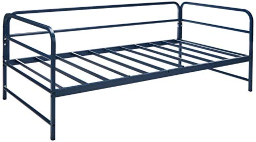 (Zinus Nightfall Twin Daybed Frame, Steel Slat Support)