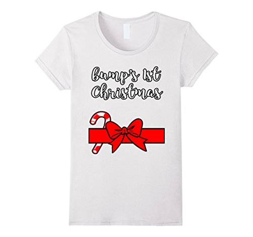 Womens Christmas Santa Suit Gift Funny T Shirt for Pregnant Wife Medium (Womens Santa Suit)