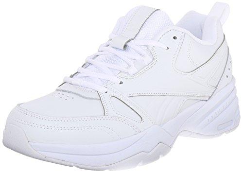 (Reebok Men's Royal Trainer W Athletic Shoe, White/White/White, 11 M US)