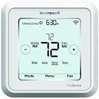 Honeywell TH6220WF2006/U Lyric T6 Pro Wi-Fi Programmable Thermostat with Stages Up to 2 Heat/1 Cool Heat Pump or 2 Heat/2 Cool Conventional