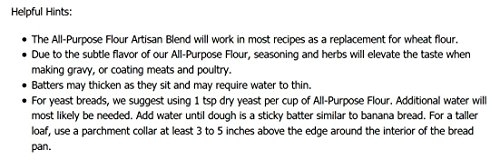 Pamela's Products Gluten Free All Purpose Flour Blend, 4 Pound by Pamela's Products (Image #4)