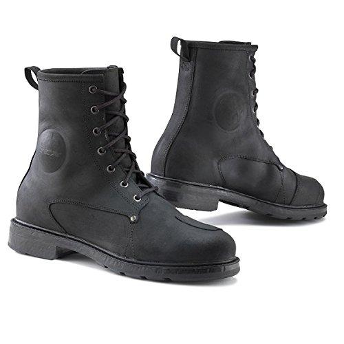 TCX 7300W X-Blend Waterproof Mens Street Motorcycle Boots - Black Size Eu 46 / Us 12