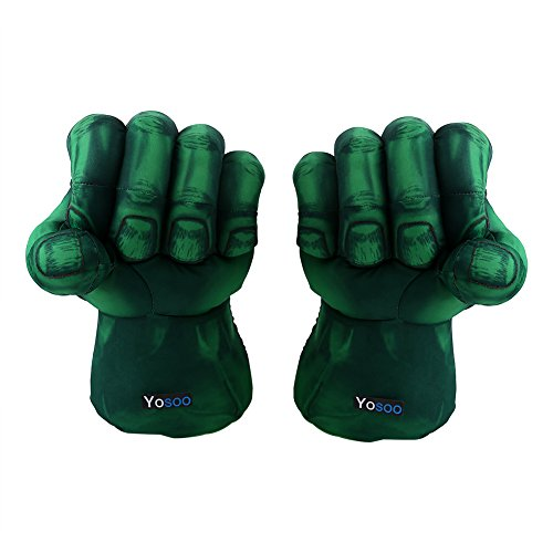Yosoo Kids Boxer Gloves,Plush Gloves Big Soft Fists Cosplay Costume Props For Christmas children Birthday Gift (Boxer Girl Halloween)