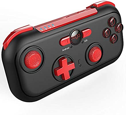 JSX Mini Bluetooth inalámbrico Gamepad Game Controller Game Handle Joystick para Android/iOS/Nintendo/Switch/TV Box/PC: Amazon.es: Deportes y aire libre