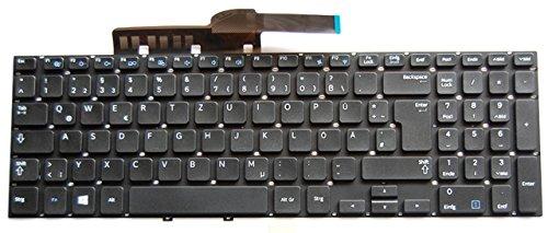 NExpert Orig QWERTZ Tastatur f/ür Samsung Serie 3 NP300E5E 300E5E Serie Schwarz DE Neu