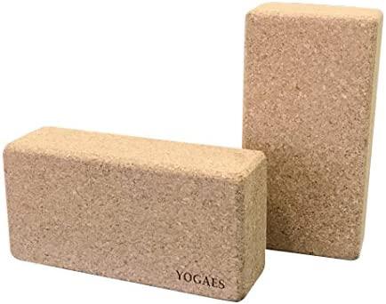 Brick de Corcho para Yoga y Pilates. Tamaño XL.: Amazon.es ...