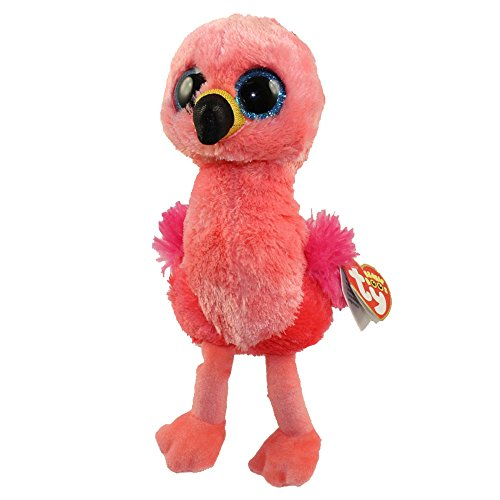 TY Beanie Boos Gilda - Pink Flamingo 9