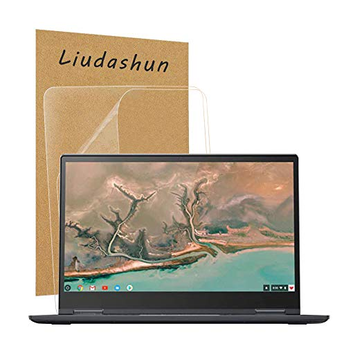 Liudashun Screen Protector for Lenovo Yoga chromebook c630 15.6' Laptop HD Clear Invisible Glossy Scratchproof(2-Pack)