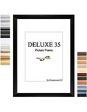 Fotolijst, fotolijst DELUXE35 60x120 cm (23,6x47,2 inch) met antireflectie veiligheidsglas en mdf backboard, 35 mm MDF moulding met overdekte decoratieve folie