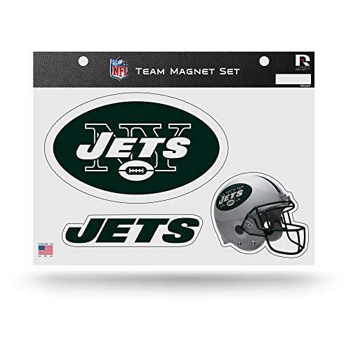 Rico Industries NFL New York Jets Die Cut Team Magnet Set Sheet