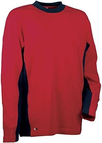 Cofra V131-0-01.Z/4 Pullover Denmark, Rot/Marineblau, 4