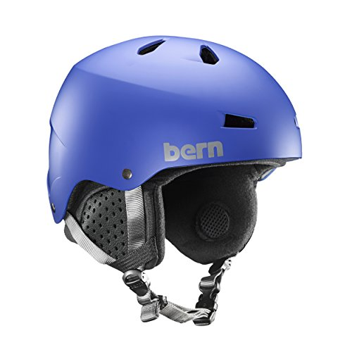 Bern Macon EPS Helmet (Matte Cobalt Blue with Black Liner, Large)