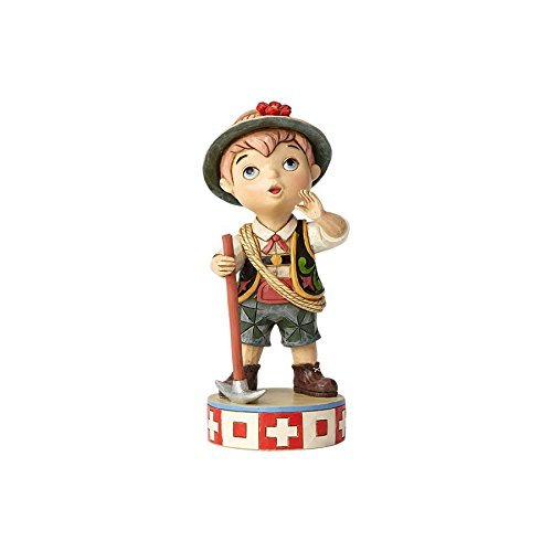Disney Traditions by Jim Shore 4057959 It's A Small World Sonata Switzerland Figurine -