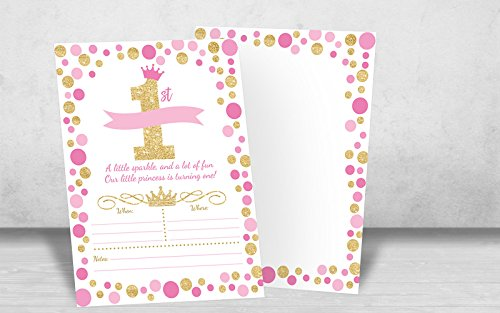 Your Main Event Prints Princess Birthday Invitations Girl First