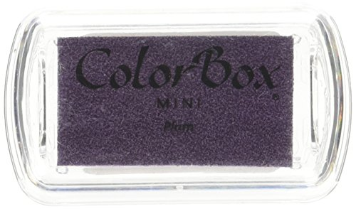 (CLEARSNAP 74-203 ColorBox Pigment Ink Pad, Mini, Plum)