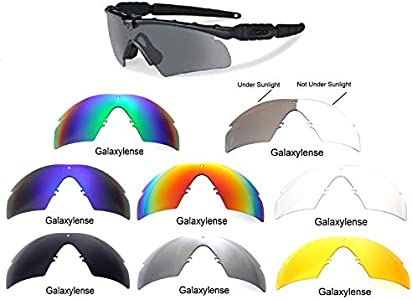 3e7324d75ae99 Galaxy Replacement Lenses Oakley Si Ballistic M Frame 2.0 Z87 8 Color Pairs  Special Offer!