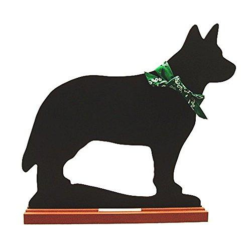 Voila Australian Cattle Dog Blackboard - Table Model