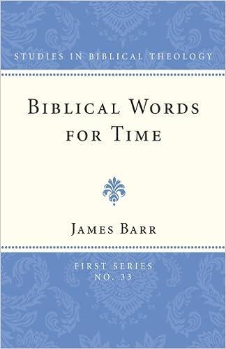 Image result for James Barr, Biblical Words for Time