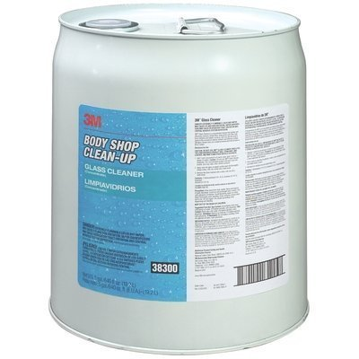 3M 38300 Body Shop Clean-Up Glass Cleaner - 5 Gallon by 3M