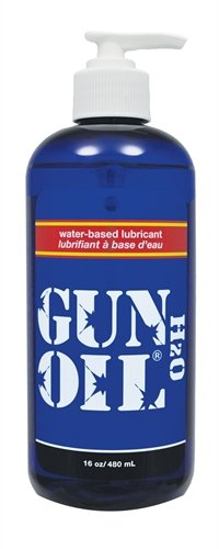 Gun oil h2o 16 oz (Package Of 5) by Gun Oil-pink Lubricant