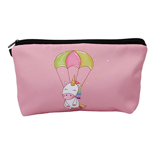 GUAngqi Women's Print Make Up Bag Cute Wash Bag Toiletry Beauty Organiser
