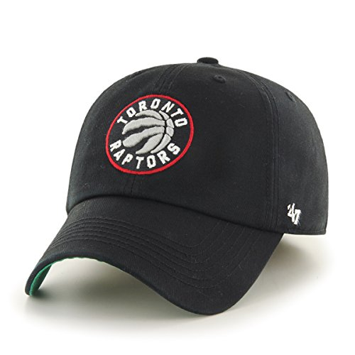 NBA Toronto Raptors Franchise Fitted Hat, Small, Black
