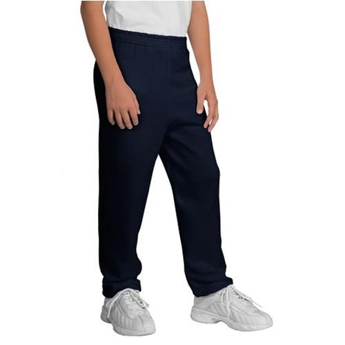 Port and Company Youth Sweatpant, Navy, X-Large ()