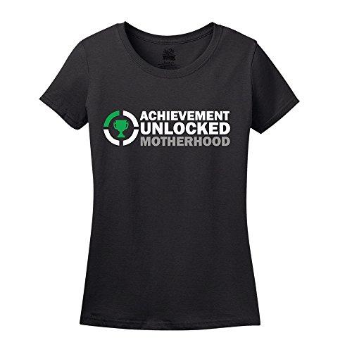 Achievement Unlocked Motherhood Shirt