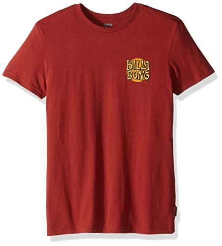 Billabong Boys' Tradewind T-Shirt Terracotta Large