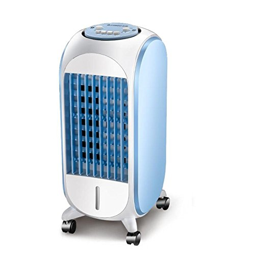 AIRZEIMIN Compact portable air cooler,Personal Bladeless quiet 4 caster wheels Air conditioner-A