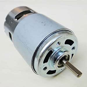 Shaft 775 electric motor flat shaft d type for Electric motor shaft types