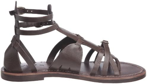 Kickers Divas, Sandales Femme Marron Brown Braun