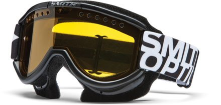 Smith Snow SME Dual Airflow AFC Lens Goggle (Black and Yellow), Outdoor Stuffs