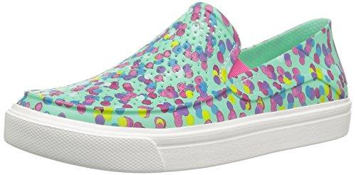 Crocs Unisex-Kids Citilane Roka Graphic K Sneaker, Multi/Mint, 3 M US Little Kid