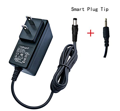 UpBright 6V AC/DC Adapter Replacement for Singer Stitch Sew Quick Sewing Machine Continental Electric 01663 CE10141 CE10131 Janome Blossom Hello Kitty Michley Lil Sew AD-0650 SW-060120A Power Supply (Pixie Plus Sewing Machine)