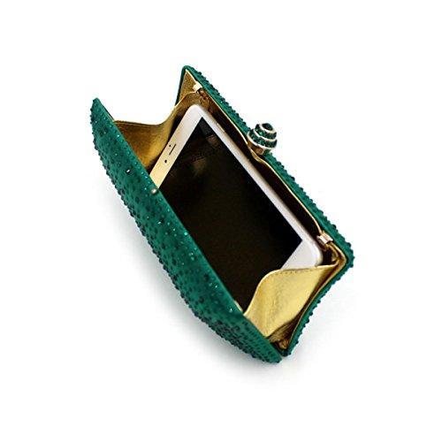 LAIDAYE Lujo Diamante Caliente Paquete De Cena De Diamantes Bolsos Bolso Bolsos Bolsos 2