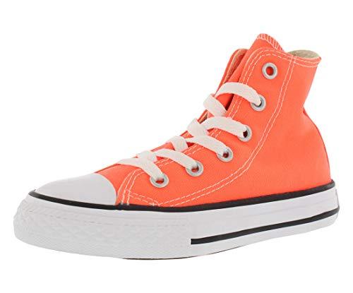 Converse Chuck Taylor All Star Toddler High Top, Scarpe per bambini Arancione (Hyper Orange)
