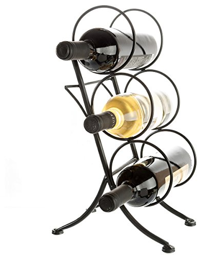 Brelso Wine Bottle Rack Tabletop Display Organizer 3