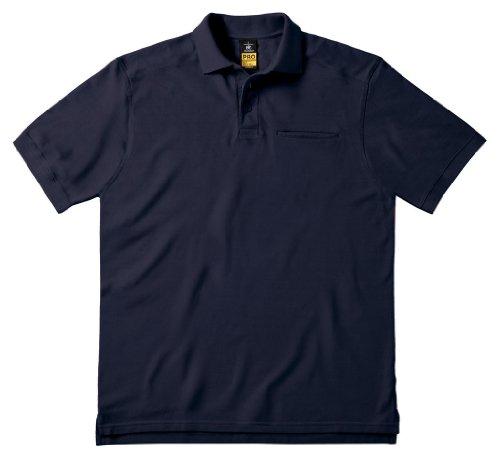 Arbeits-Poloshirt 'Skill Pro' mit Brusttasche, Farbe:Navy;Größe:L L,Navy