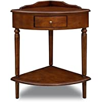 Bowery Hill Corner Table in Russet