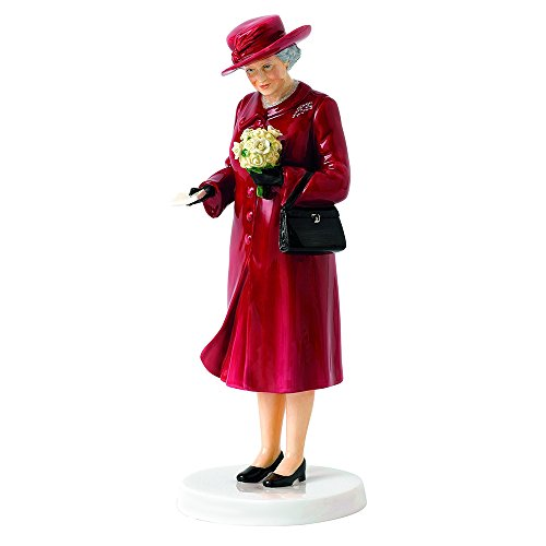 Doulton Birthday Royal Figurine (ROYAL DOULTON Her Majesty Birthday Celebration Figurine, 8.5