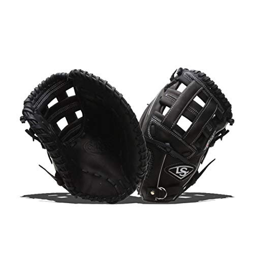 Louisville Slugger 13-Inch FG Pro Flare First Basemans Mitts, Black, Left Hand Throw ()