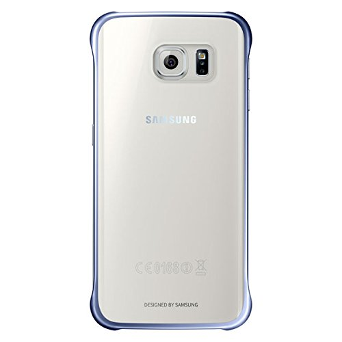 Samsung Clear Back Cover for Galaxy S6 Edge  Black