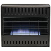 Kozy World GGD328 Blue Flame Dual Fuel Garage Heater