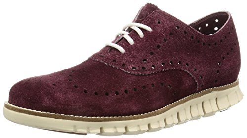 Cole Haan Mens Zerogrand Vinge Oxford Berry Mocka
