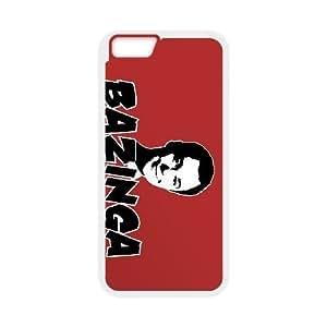 iPhone 6 plus 5.5 inch white Phone Case Bazinga Maverick Fantasy Funny Terror Tease Magical YHNL797887552