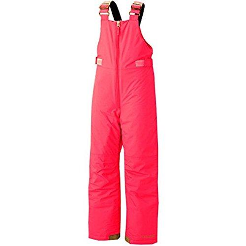 Columbia Youth Girls Chillee Bib Snowboard Ski Pants Pink (XXS 4/5)