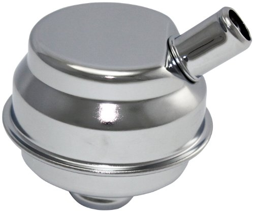 Mota Performance A70160 Chrome Plated Push-In Valve Cover Oil Filler Breather Mopar Style 1
